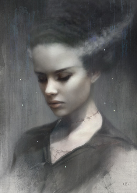 Frankie - By Tom Bagshaw for the Eyes Wide Shut show November 12th at Fine Grime in the UK