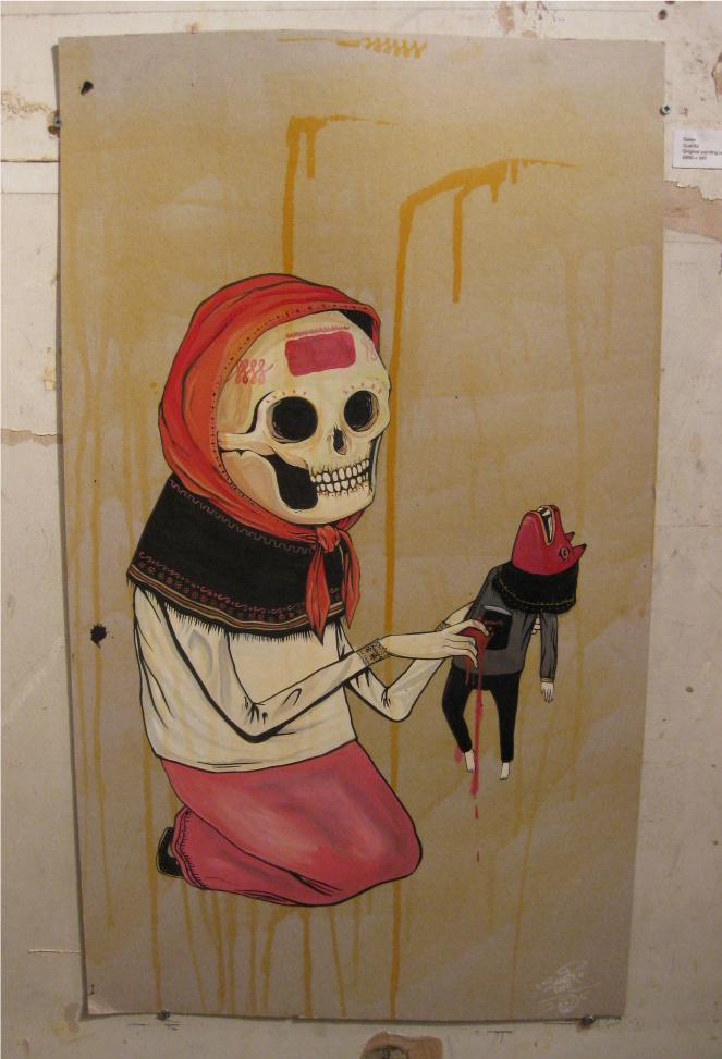 'Guerita' by Saner (Mexico)