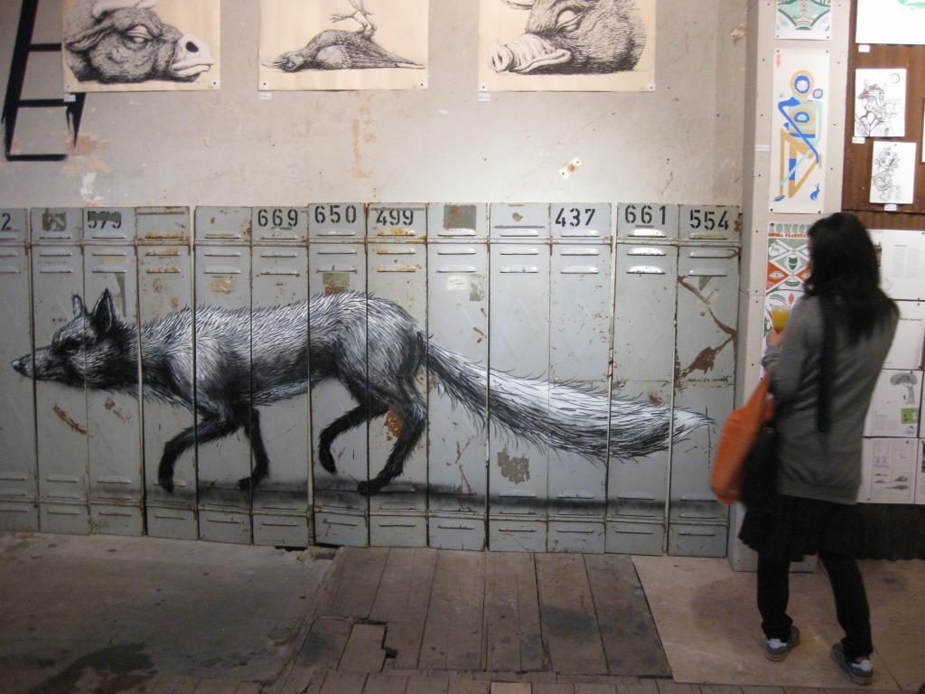 Works by Roa (Belgium)