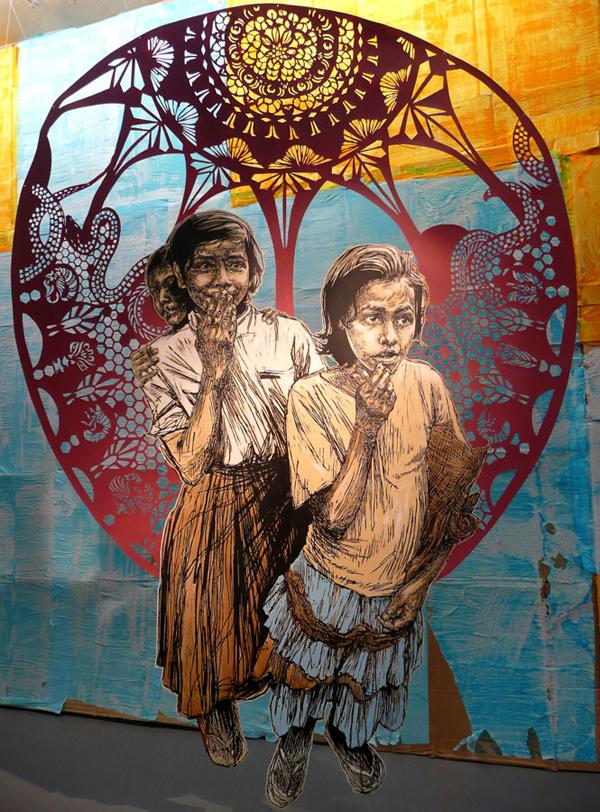 Openings swoon fata morgana galerie l j arrested motion - Galerie street art paris ...