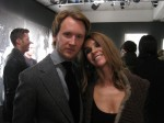 French Vogue's editor-in-chief, Carine Roitfeld with friend