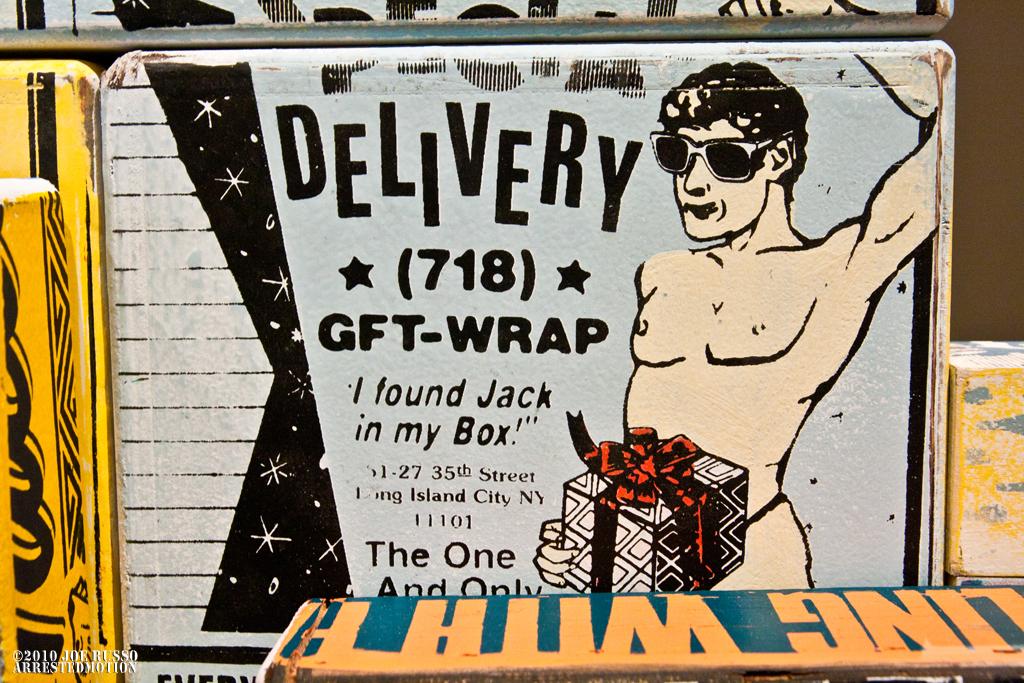 The old Skool D!$k in the box...