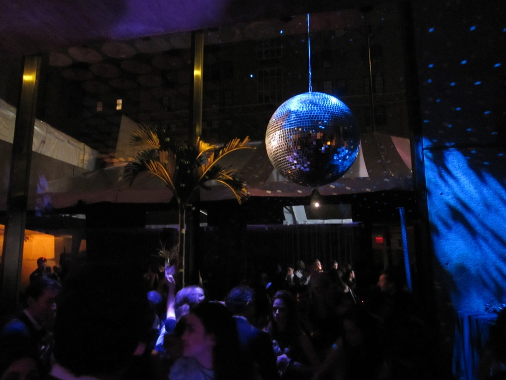 The Disco ball by Paul Insect was stuck in customs...