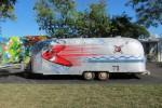 Kenny Scharf Airstream Trailer