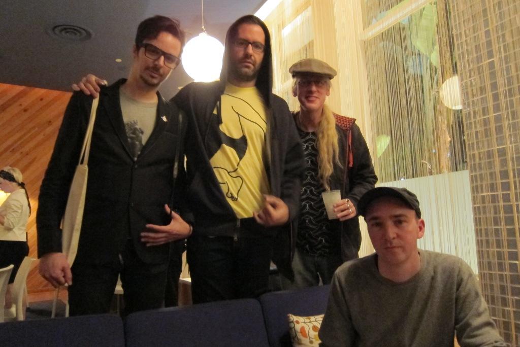 Tim Biskup, Eric White, Carlo McCormick & KAWS