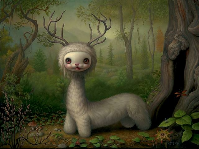 Releases Mark Ryden Yoshi The Forest Spirit Poster