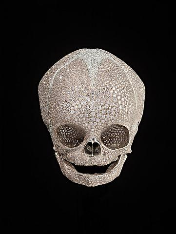 Photo via Gagosian website. © Damien Hirst and Hirst Holdings Ltd, DACS 2011