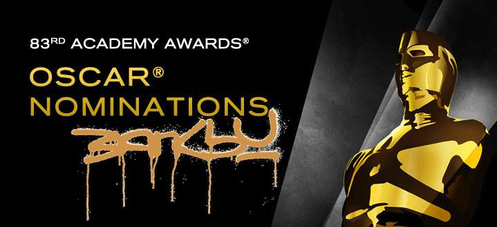 AM Banksy Oscar Academy Award