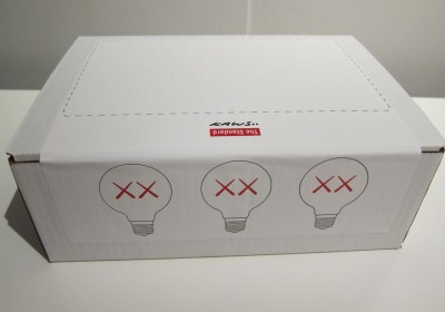 AM KAWS Standard Light Bulbs 01