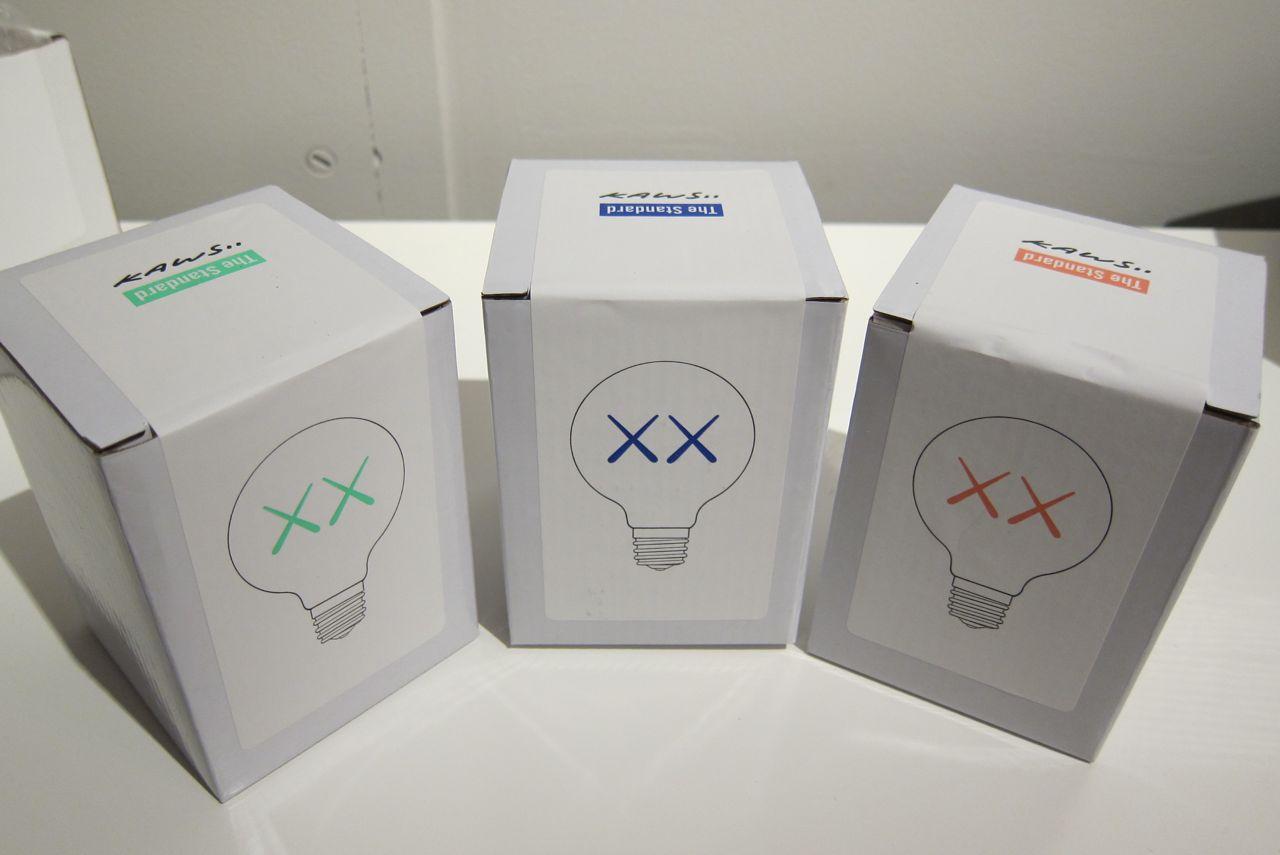 AM KAWS Standard Light Bulbs 03