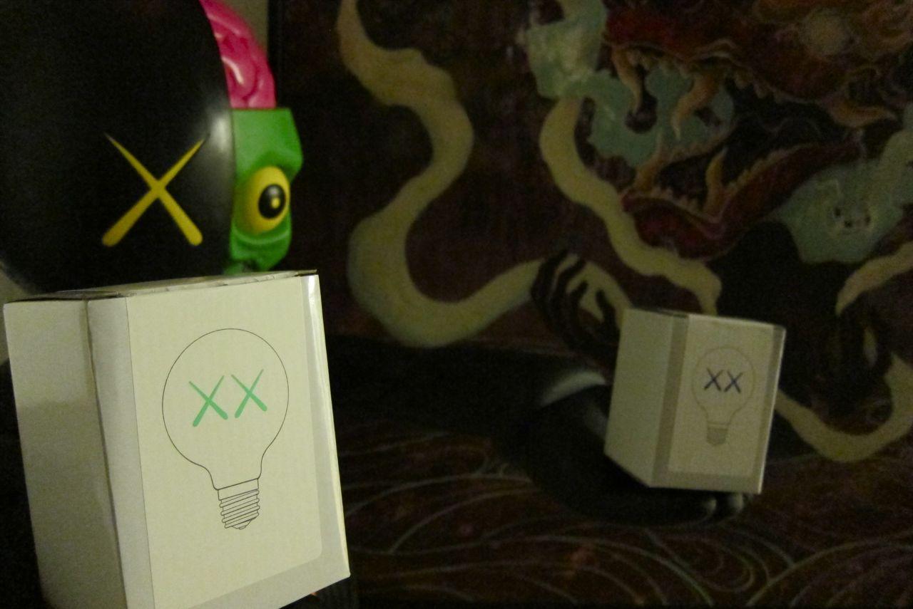 AM KAWS Standard Light Bulbs 17