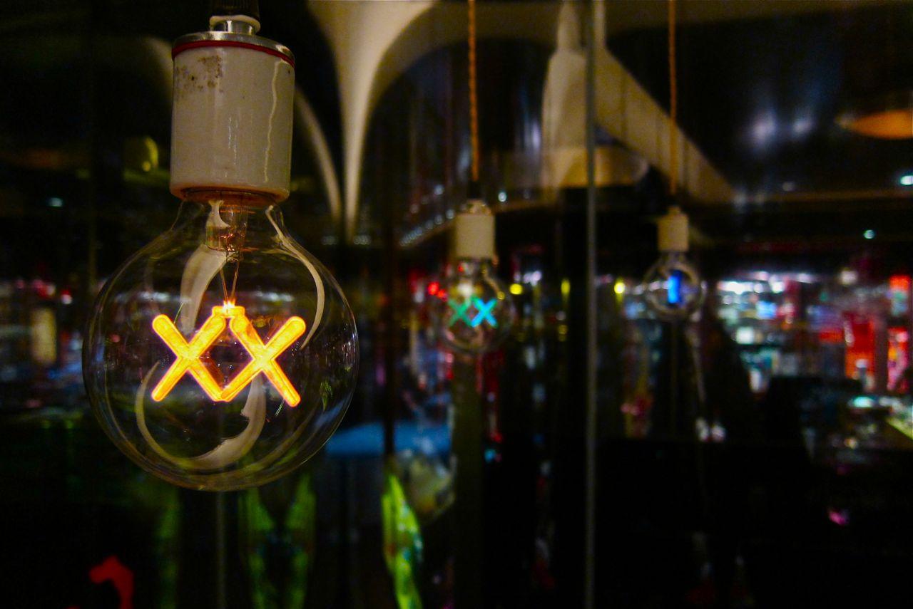 AM Kaws Standard Light Bulbs night 1