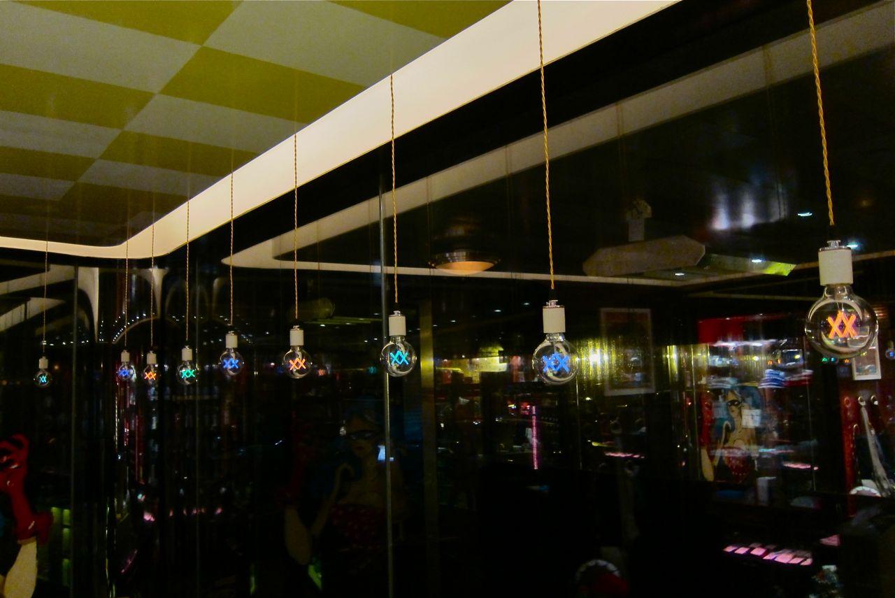 AM Kaws Standard Light Bulbs night 4