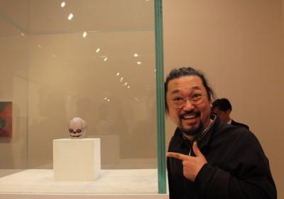 AM Murakami Hirst Gagosian 1