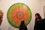 Ryan McGinness piece at Country Club's booth