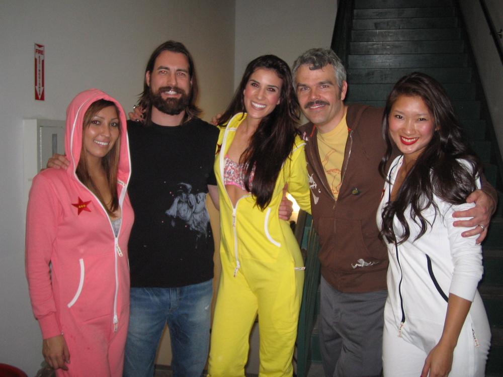 Nathan Spoor Joe Vaux and the onesie girls2