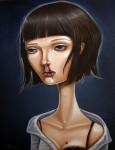 """Audrey Pongracz - """"Mia"""" (pulp fiction)"""