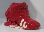 'Red Shoe' by Stefan Gross @ Harlan Levey Projects, Brussels, Belgium