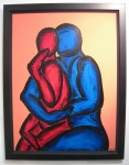 "Work by Francesco Ruspoli @ Gagliardi Gallery, London [""This will go perfectly next to the Renoir.""]"