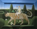 'Leopardess' by Gwen Fulton @ Portal Painters, London