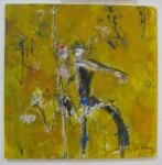 "'Yellow Tango' by Asli Kutluay @ Artêria Art Gallery, Montreal, Quebec [""Hmm...""]"