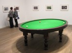 'Carambole with Pendulum'. 1996. Modified billiard table and billiard balls
