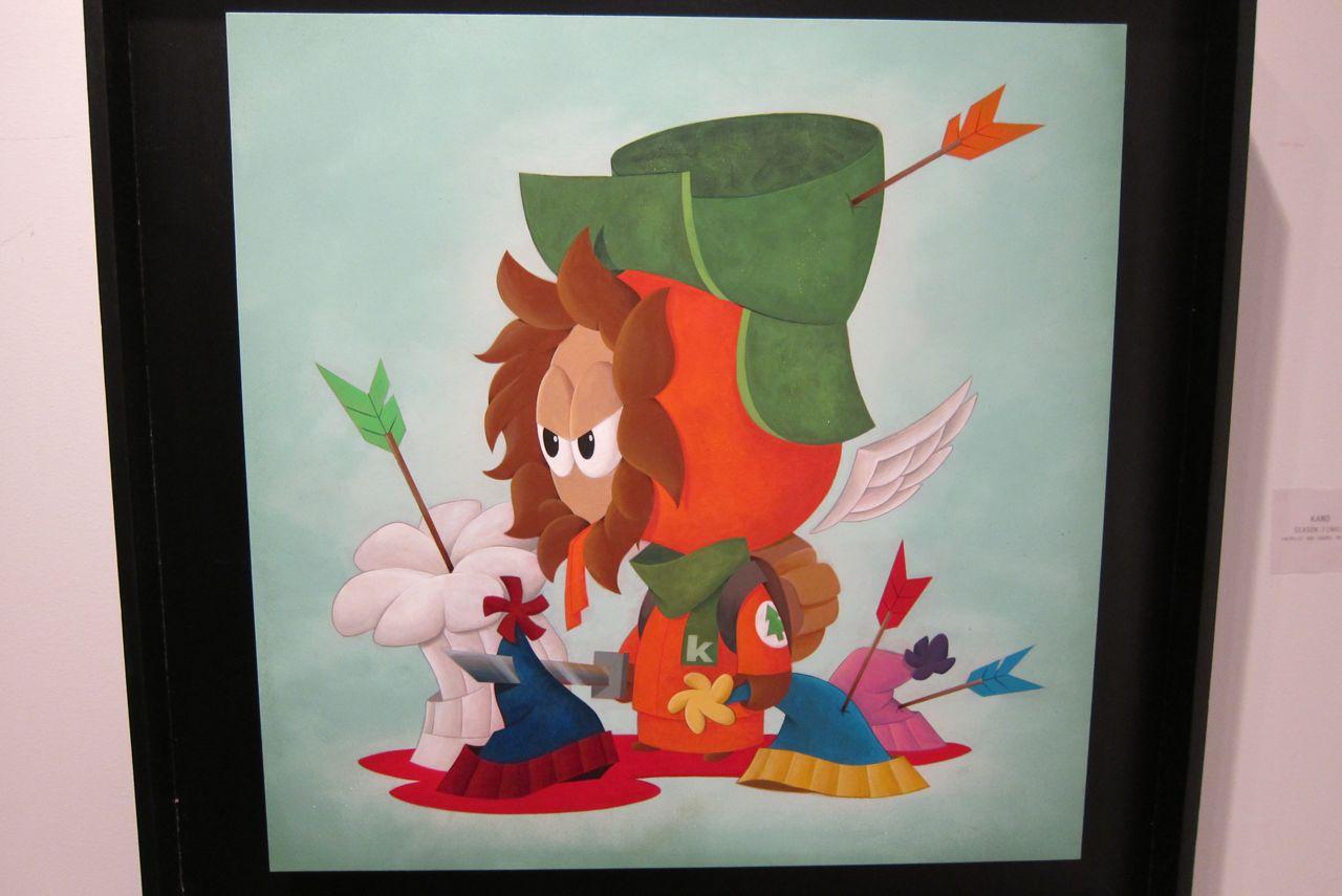 South Park Art Show Opera AM 04