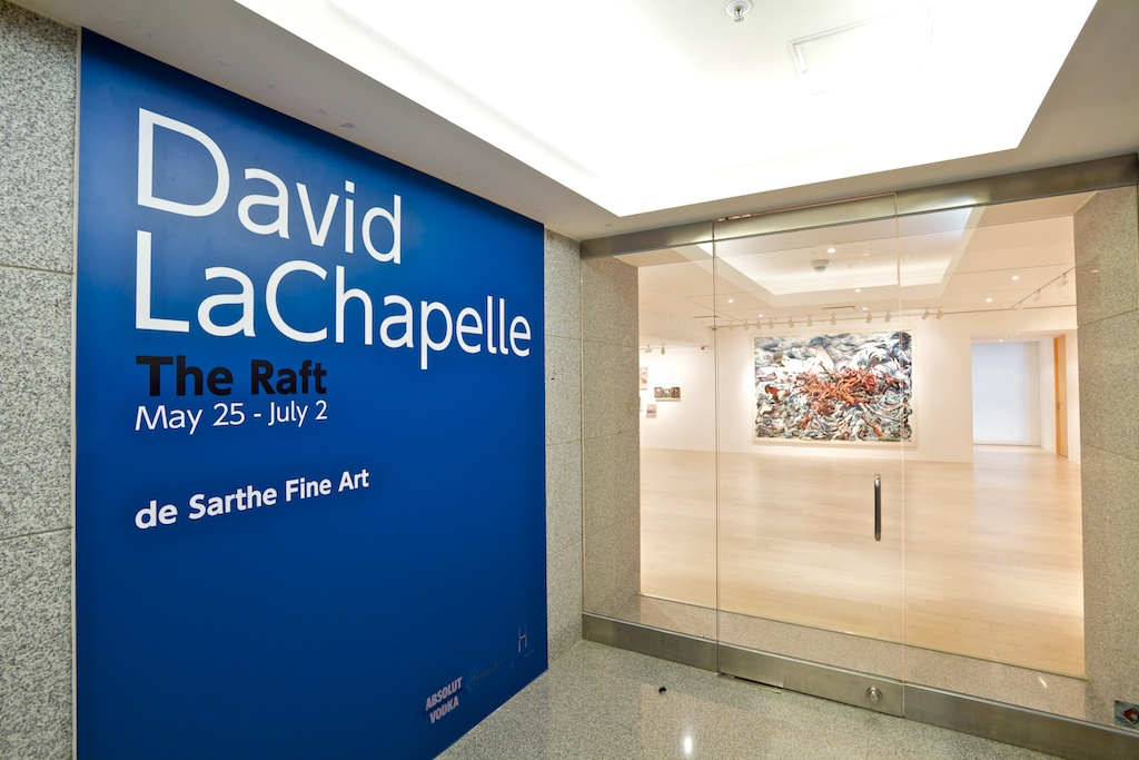 1- David LaChapelle The Raft - de Sarthe Fine Art - May 25 to July 1
