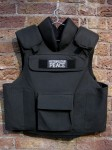 'Metropolitan Peace'. 2008. Embroidery on police vest