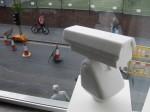 'Surveillance Camera'. 2006. Marble