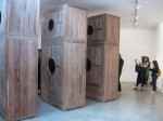 'Moon Chest'. Each chest is assembled using expert joinery methods, without nails or screws.
