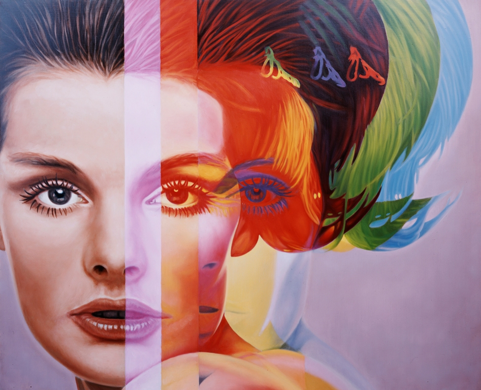 Paint Rainbow Girl Wallpapers: Richard Phillips « Arrested Motion