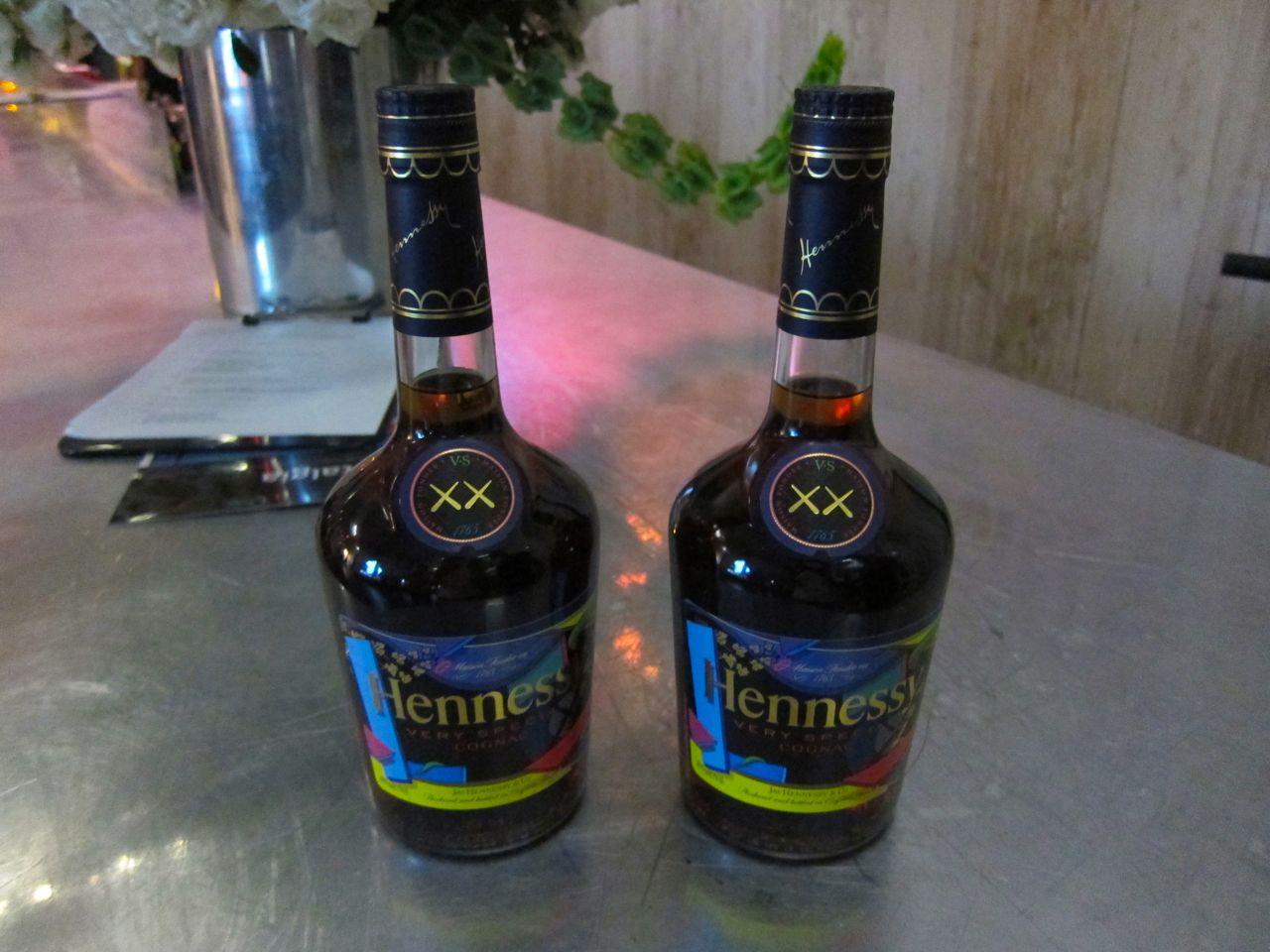KAWS Hennessy VS Cognac Bottle New Museum AM 08