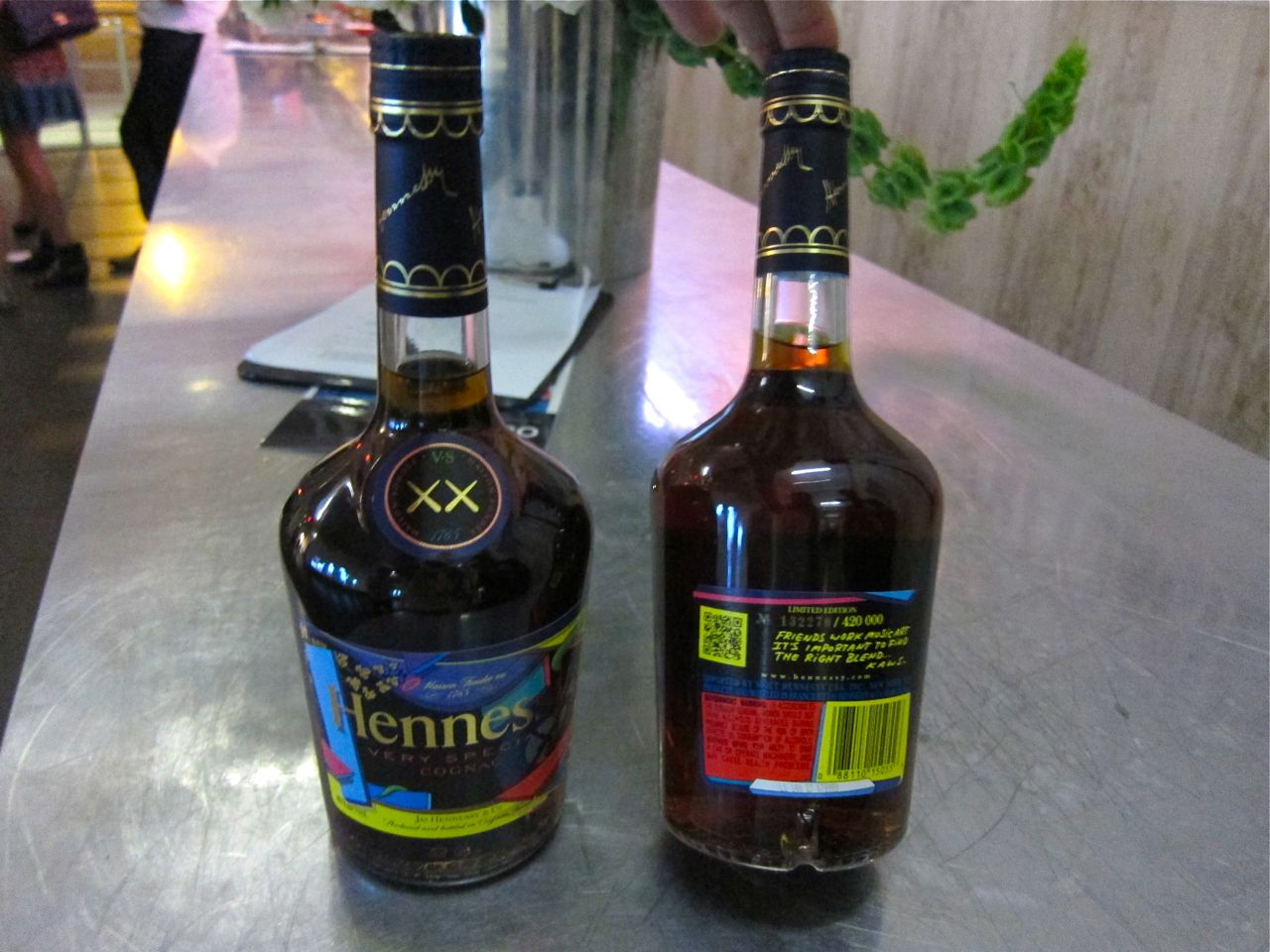 KAWS Hennessy VS Cognac Bottle New Museum AM 09