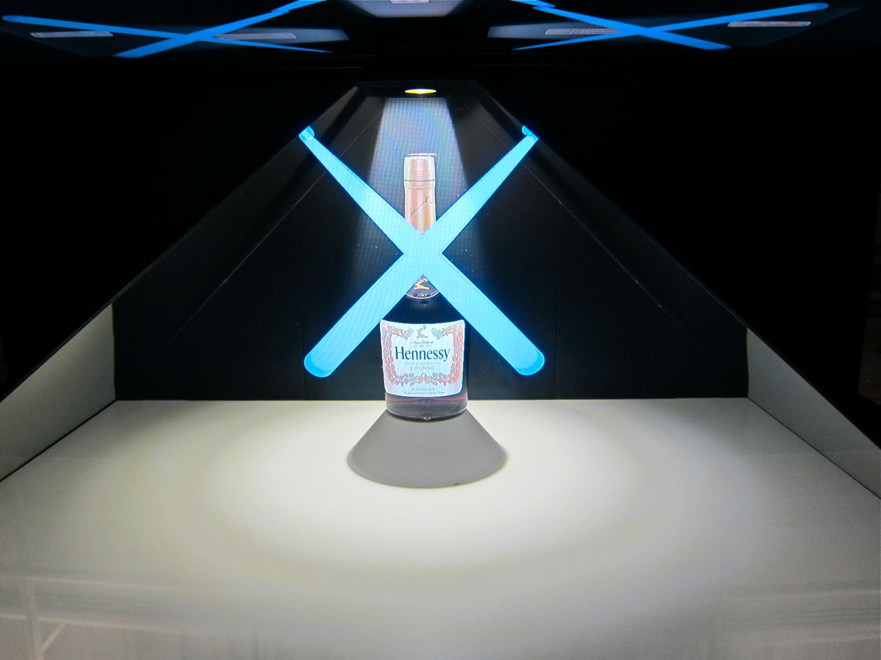 KAWS Hennessy VS Cognac Bottle New Museum AM 22
