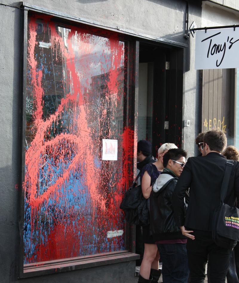 Burning Candy Opening @ Tony's