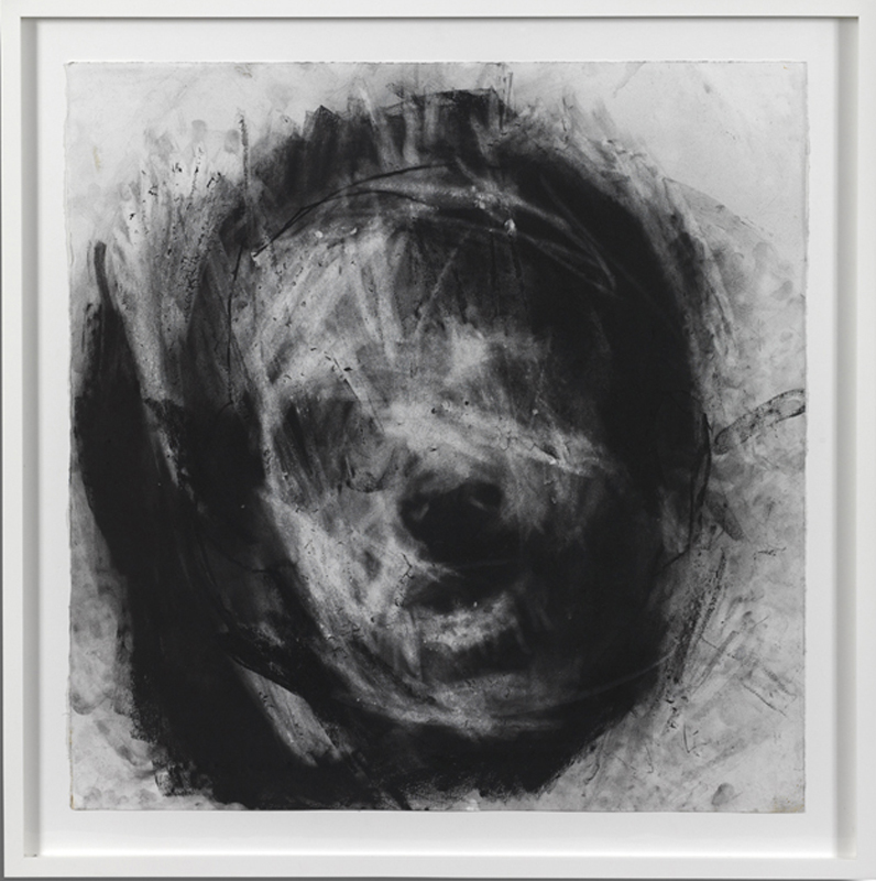 Head 3, 75 x 73 cm, Charcoal on Paper, £7,000 + VAT