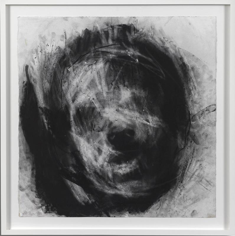 Head 3, 75 x 73 cm, Charcoal on Paper, £7,000 + VAT
