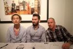 Yoskay Yamamoto, Nate Frizzell, Scott Belacastro
