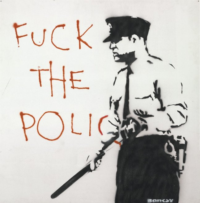 banksy_fuckthepolice