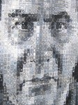 Chuck Close: 'Joel' (detail)