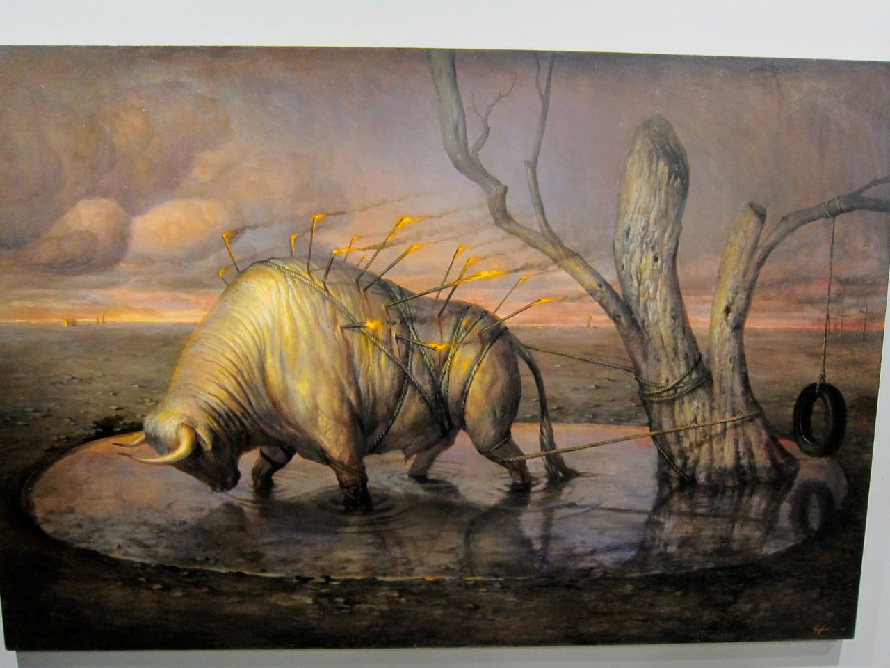 "June Calendar Pieces : Openings martin wittfooth ""the passions lyons wier"