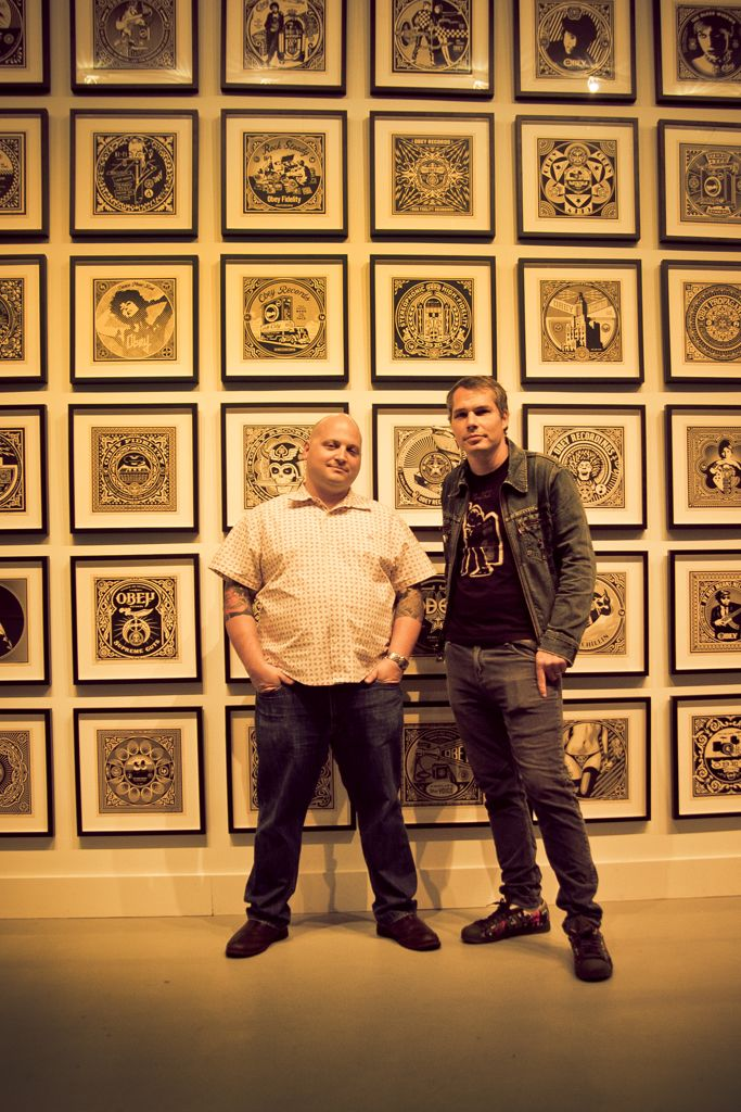 Shepard Fairey Revolutions Levine AM 16