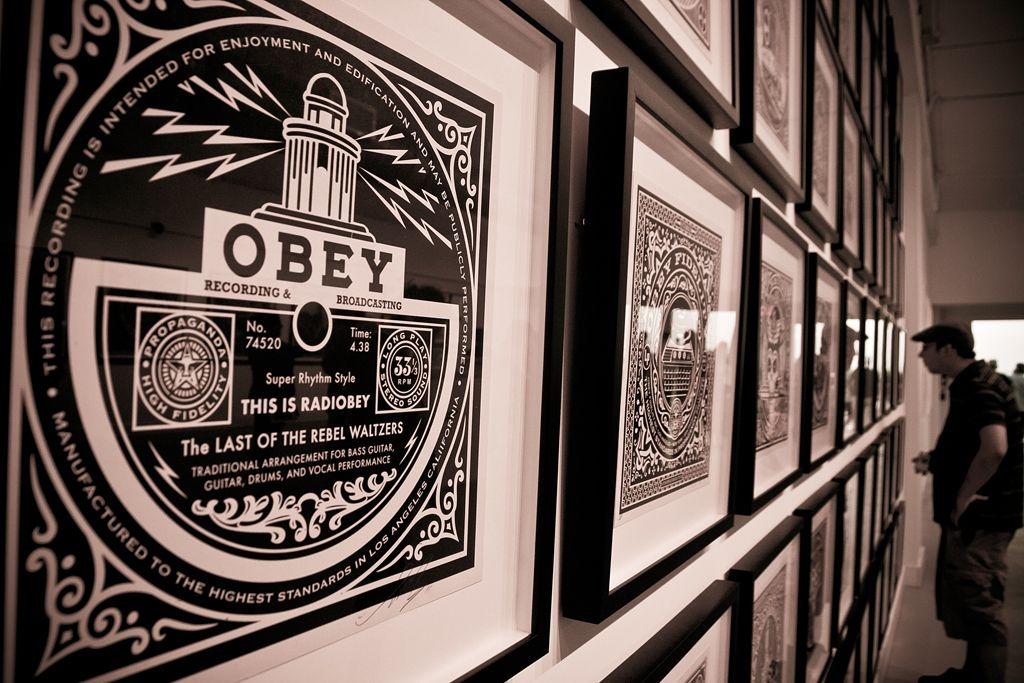 Shepard Fairey Revolutions Levine AM 30