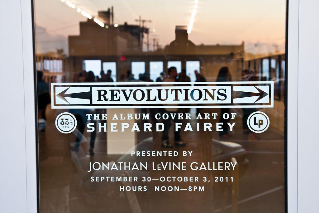 Shepard Fairey Revolutions Levine AM 37