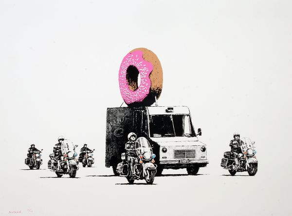 dreweatts_oct_banksy_donuts_pink