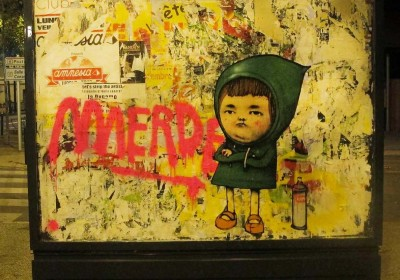 Dran in Toulouse, France.  Photo via streetartnews.net.