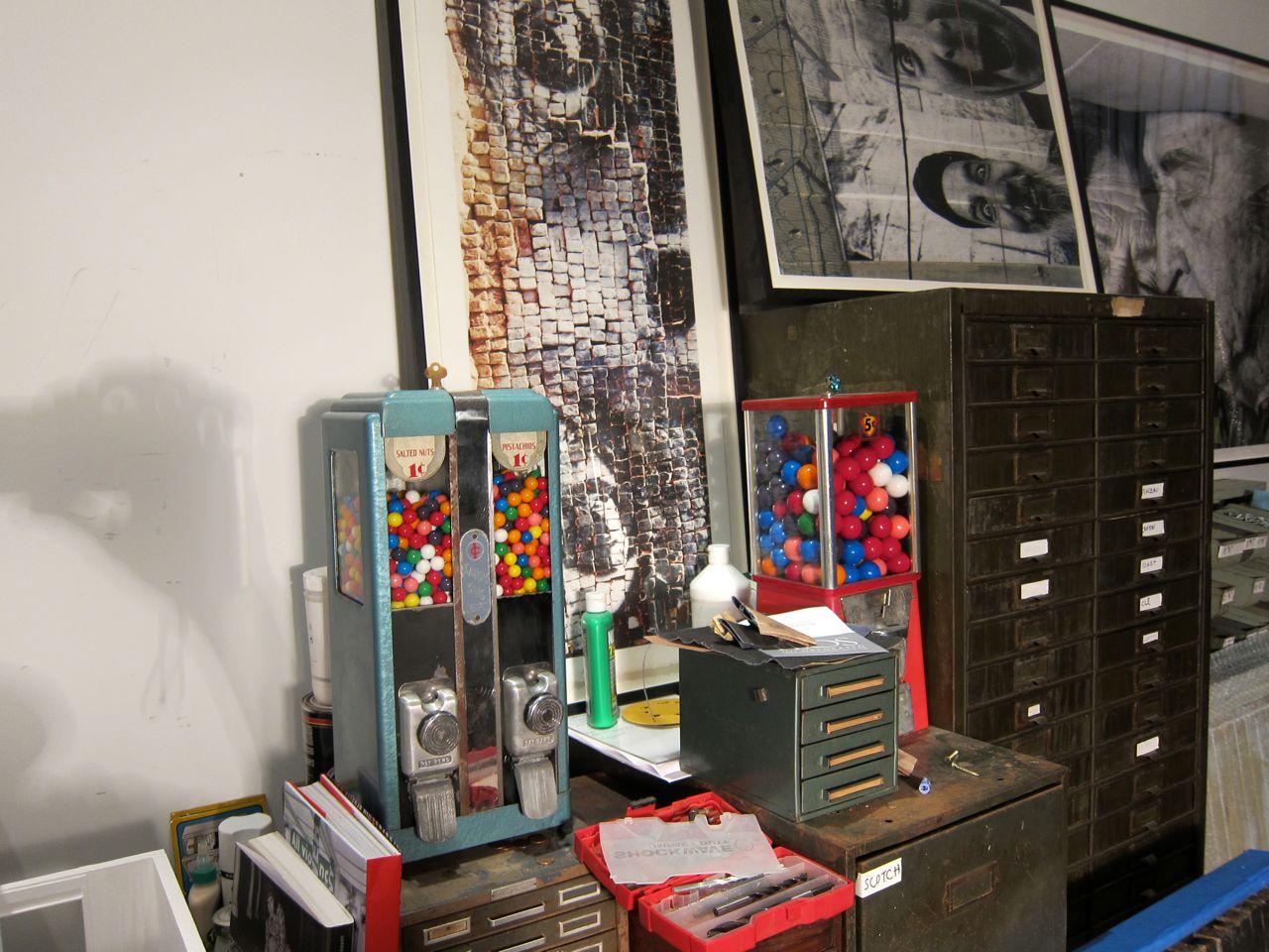 JR Perrotin Studio Visit encrages AM  5