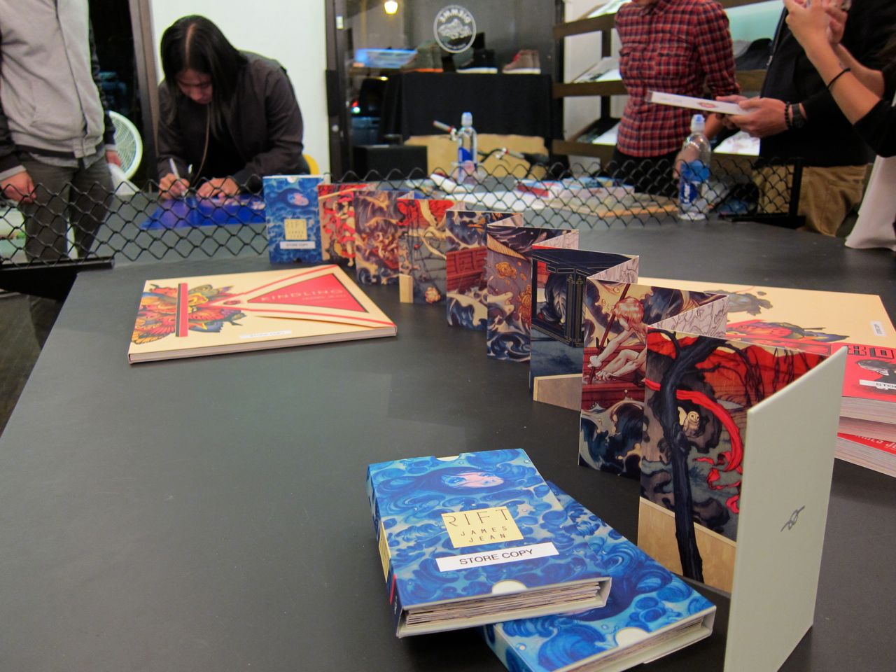 James Jean Reed Space signing AM 02