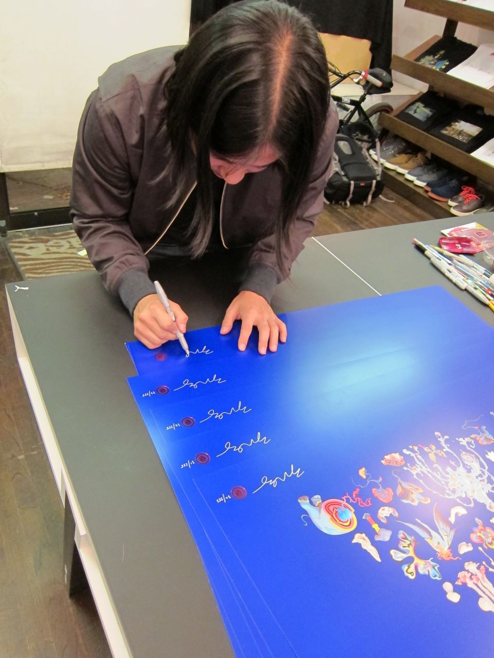 James Jean Reed Space signing AM 03